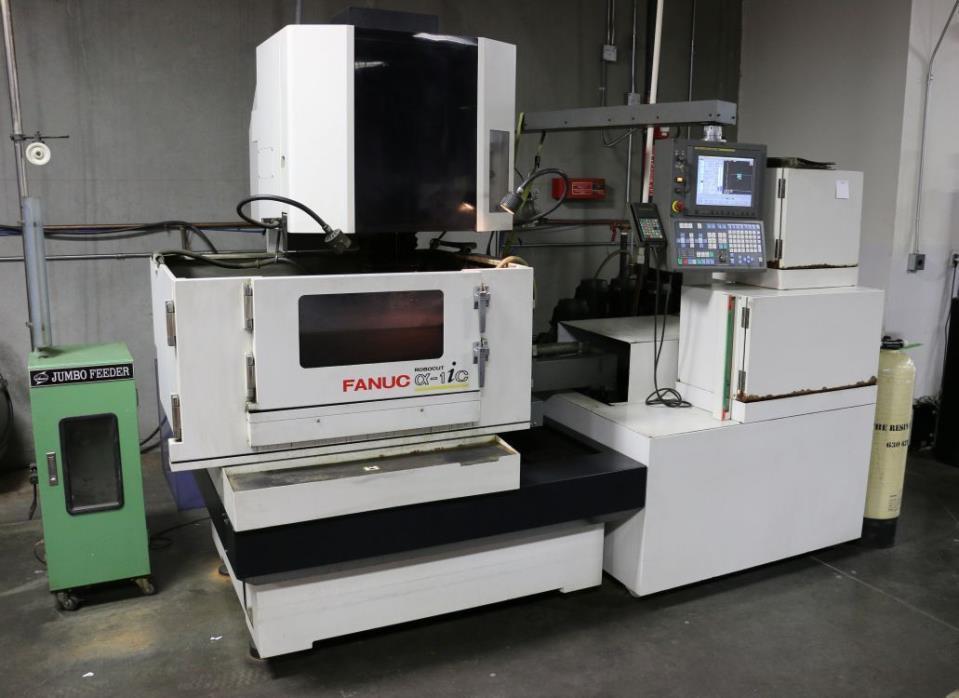 Fanuc Robocut Alpha 1iC CNC Wire EDM - New 2006