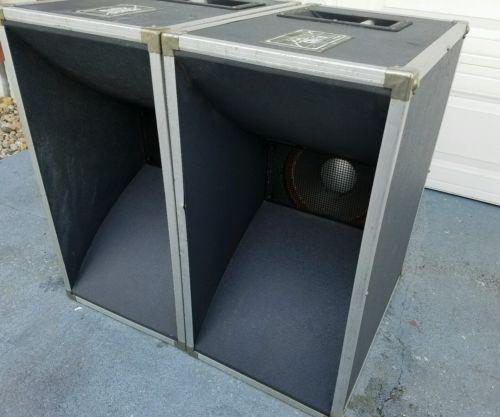 Vintage  Pair JBL 12 Speaker Cabinets  12
