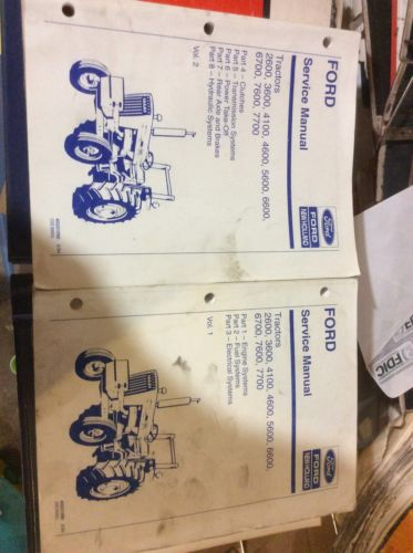 Service Manual Ford Tractor2600 3600 4100 4600 5600 6700 7600 7700