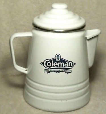 Coleman Sunshine of the Night Limited Edition Enamel Coffee Pot ~ Super Nice!