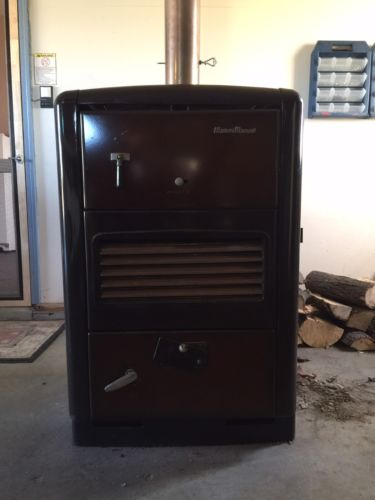 Antique Warm Mann 2 Wood Or Coal Stove Locke Stove Co. 400a Mid Century Works