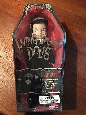 Living Dead Dolls - Series 1 - Damien - 2000 - MIB - Very Rare - Goth Doll