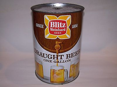 Blitz Weinhard Beer Gallon Can