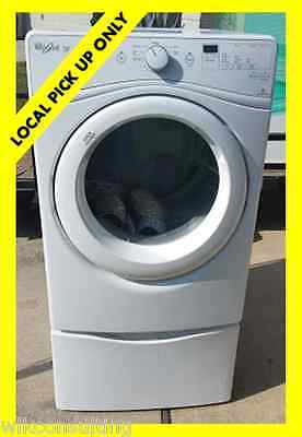 Whirlpool WED72HEDW Duet Electric 7.3 cu. ft. White Front Load Dryer #WED72HEDW
