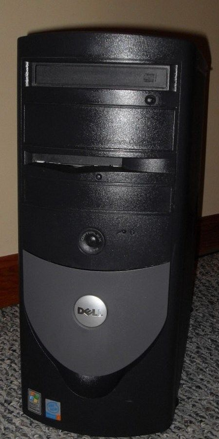 Dell Optiplex 270 Full Tower Computer Windows 2000 Professional 2.8GHz P4 Tested