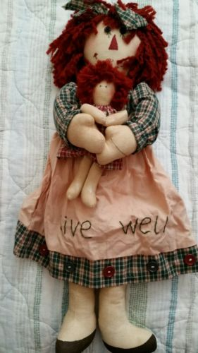 Live Well Rag Doll With Tot 18