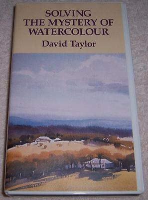 Solving the Mystery of Watercolour David Taylor VHS Video painting art