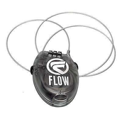 NEW Flow Snowboard Coil Combo Lock