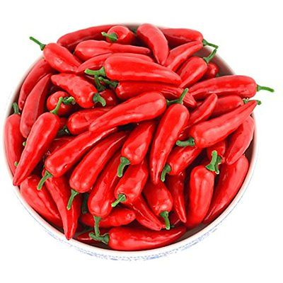 SAMYO Artificial Lifelike Simulation Chinese Red Pepper Fake Hot Chili For Home