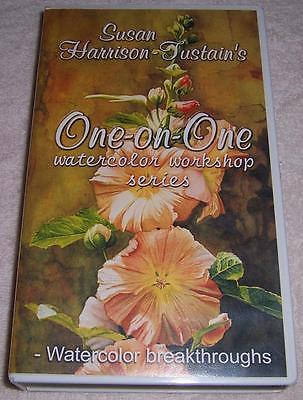 Susan Harrison-Fustain's One-on-One Watercolor Workshop Series VHS painting art