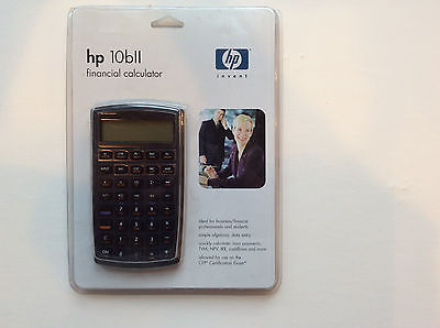 HP Financial Calculator HP 10bll With Case