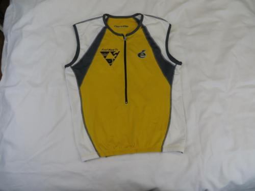 Mint Cervelo Womens Yellow First Wave Tri Bike Cycling Running Fall Jersey Sz L