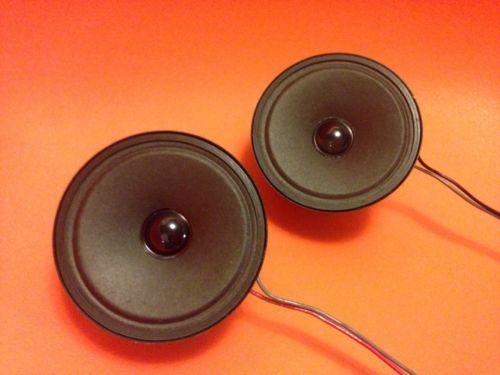Two Bose 301 Series II Tweeters