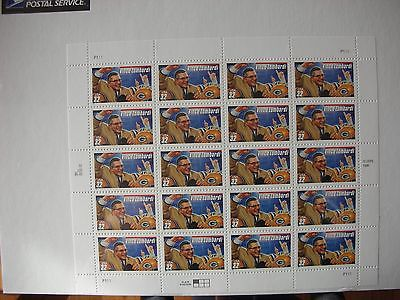 U.S. Scott #3147 VINCE LOMBARDI  COACH GREEN BAY PACKERS SHEET OF 20 MNH