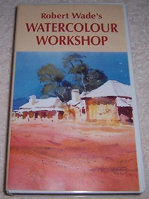 Robert Wade's Watercolour Workshop VHS Video painting instruction