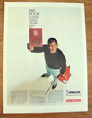 1968 Oregon Chain Saw Chain Saws Ad