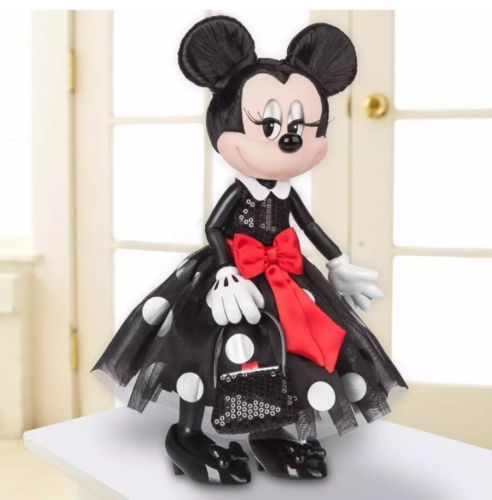 Disney Store Limited Edition Minnie Mouse Signature Doll LE 3000 12