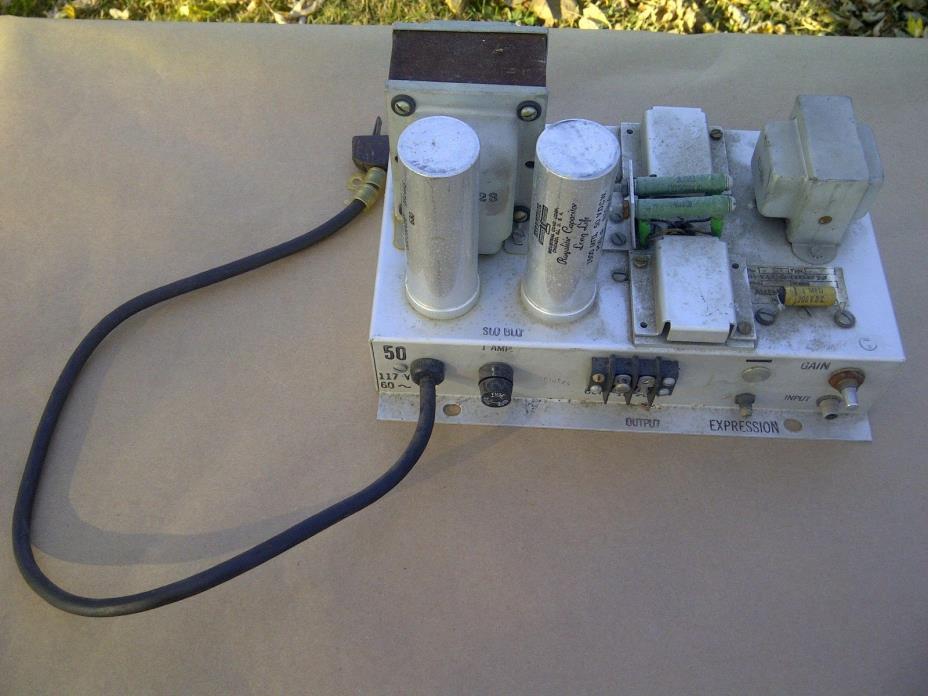Allen Organ amplifier (((Untested as-is)))