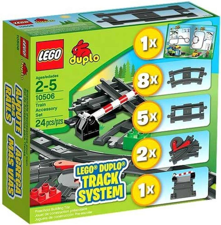 Lego Duplo 10506 Track System Train Accessory Set NEW!