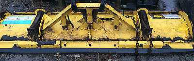 ~FISHER SNOW PLOW AND MOUNT NEEDS WORK/ PARTS SELLING AS IS~