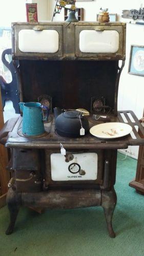 1921 wood stove oven supreme