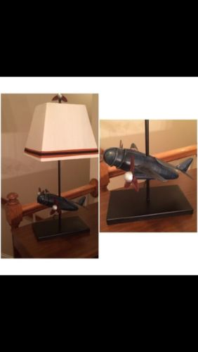 Pottery Barn Airplane Lamp