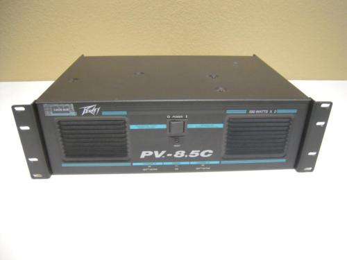 Peavey PV-8.5c 500 Watts x2 Professional Stereo Power Amplifier (V02)