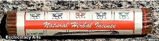 Tibetan Natural Herbal Incense 40 Sticks Herbal- Natural Handmade Traditional