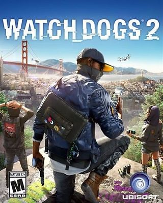 Watch Dogs 2 - PC Ubisoft (NVIDIA Redemption Code)