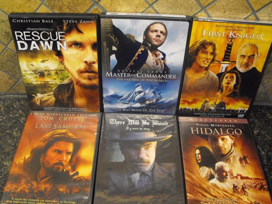 12 Lot Bundle DVDs ~ Action/Adventure ~ Dangerous Dozen Binge-Fest! ~