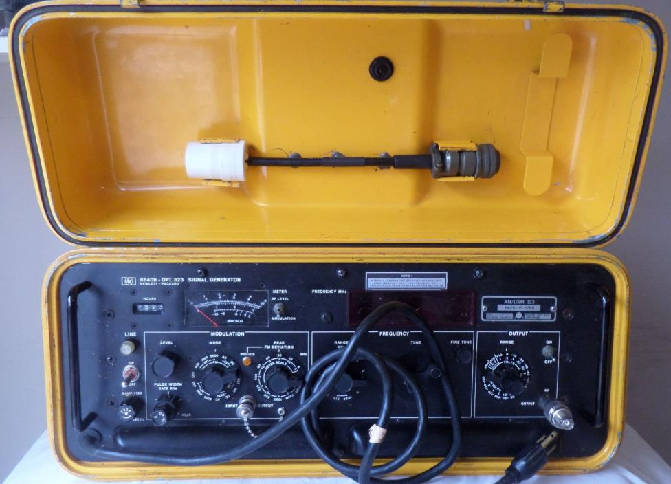 An Urm 25d Signal Generator : Military signal generator for sale classifieds