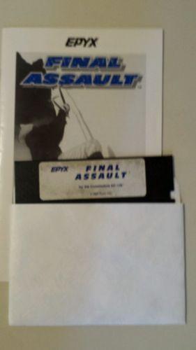 Final Assualt Commodore 64
