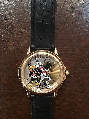 Armitron Bugs Bunny & Daffy Duck Mel Blanc Singing Watch Collectible 2200/373