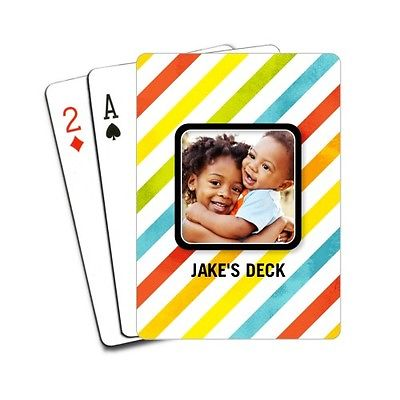 Code Shutterfly photo playing card