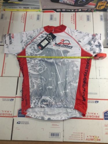 Primal Mens Size Small S Cycling Jersey Tour De Cure (3524)