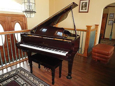 YOUNG CHANG  G 157  BABY GRAND PIANO WITH QRS PLAYER SYSTEM