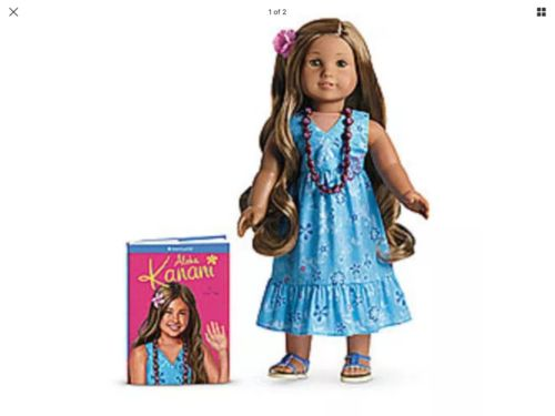 American Girl Doll Kanani and Paperback Book