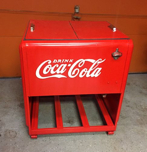 Coke Cola Ice Chest For Sale Classifieds