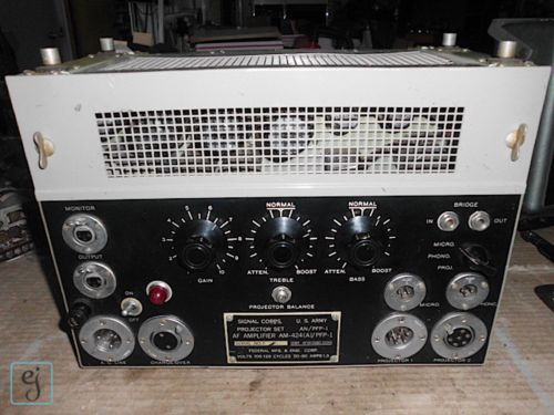 AM-424 Tube Audio Amplifier by Federal