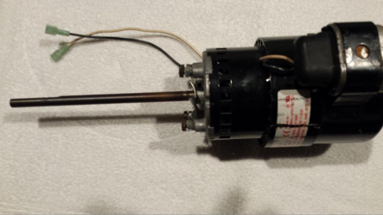 MagneTek electric motor-long shaft-240V- 1/12 HP- Smoker- Food Service Parts