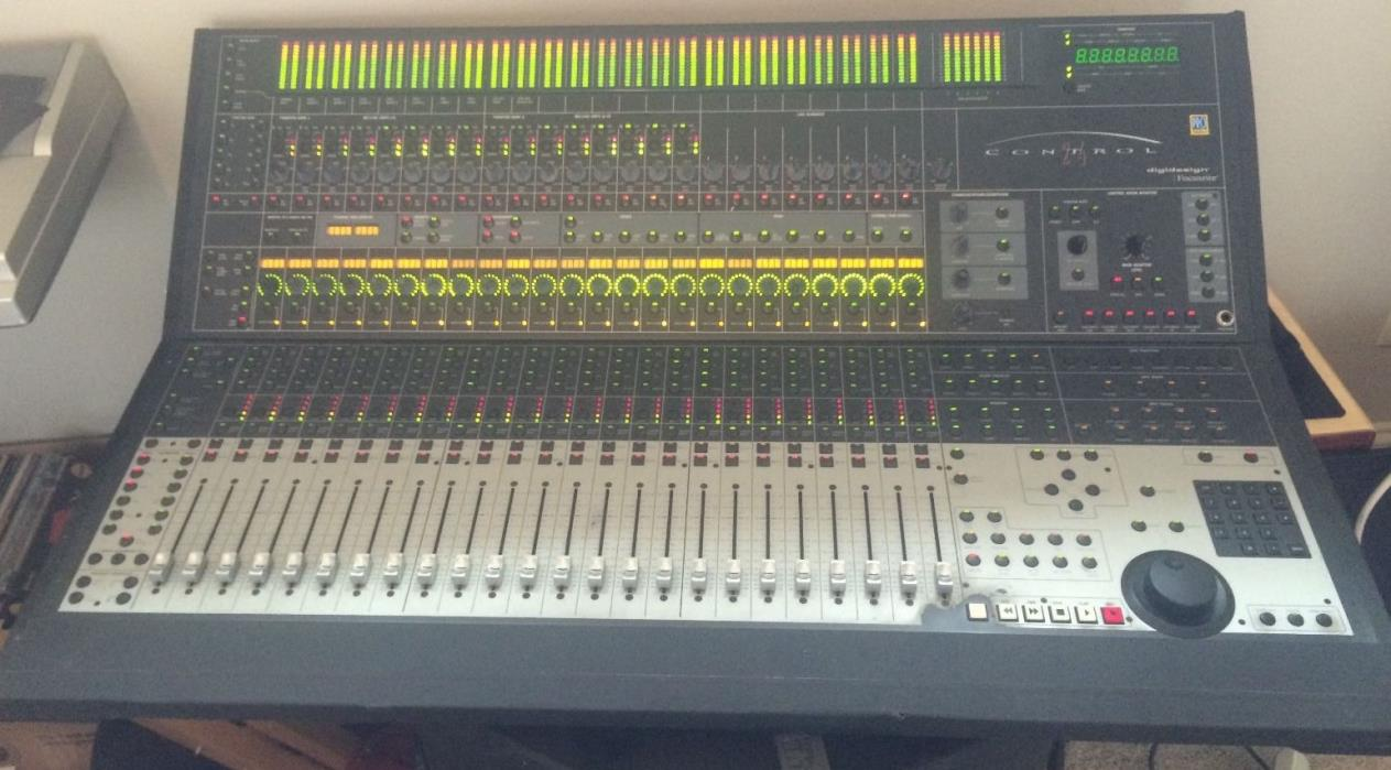 Digidesign Pro Control - For Sale Classifieds