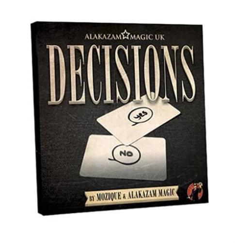 Decisions Blank Edition (DVD and Gimmick) by Mozique - DVD - Magic Tricks