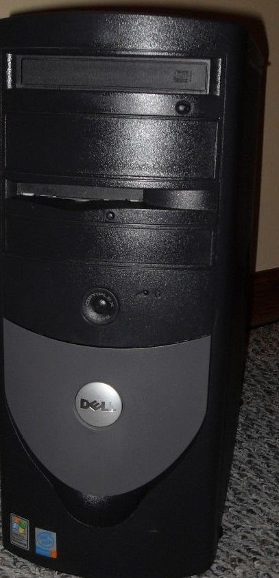 Dell Optiplex 270 Full Tower Computer Windows XP Professional 2.8GHz P4 Tested