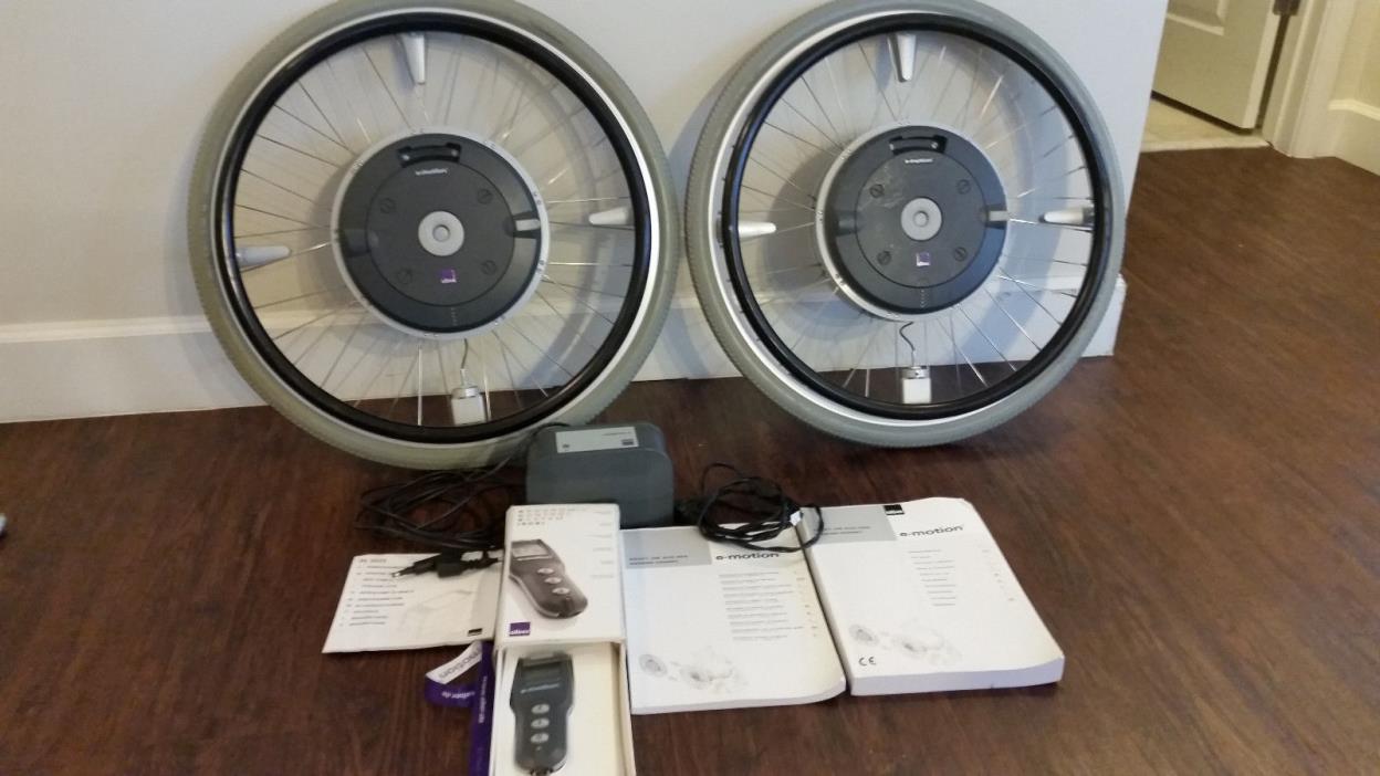BRAND NEW E-motion M15 Power Assist Wheelchair Wheels
