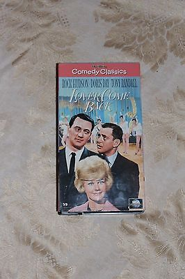 Doris Day Lover Come Back VHS Movie