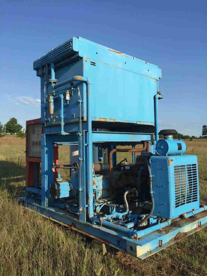 CNG 3 Stage Ariel Compressor