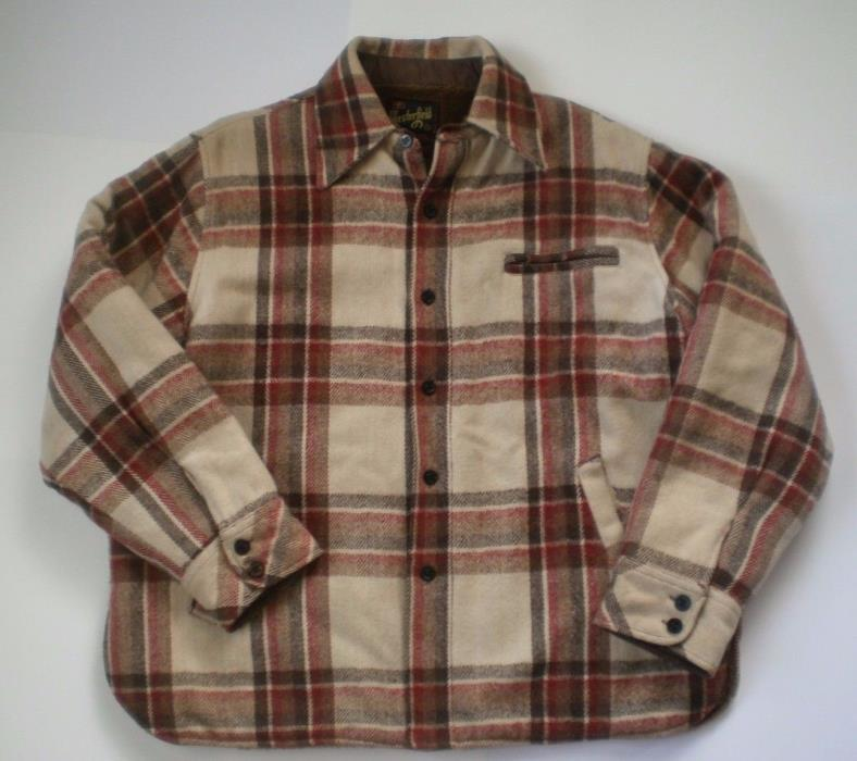 Men's Westerfield Plaid Jacket ~ Field / Hunting / Barn Coat ~ size 46