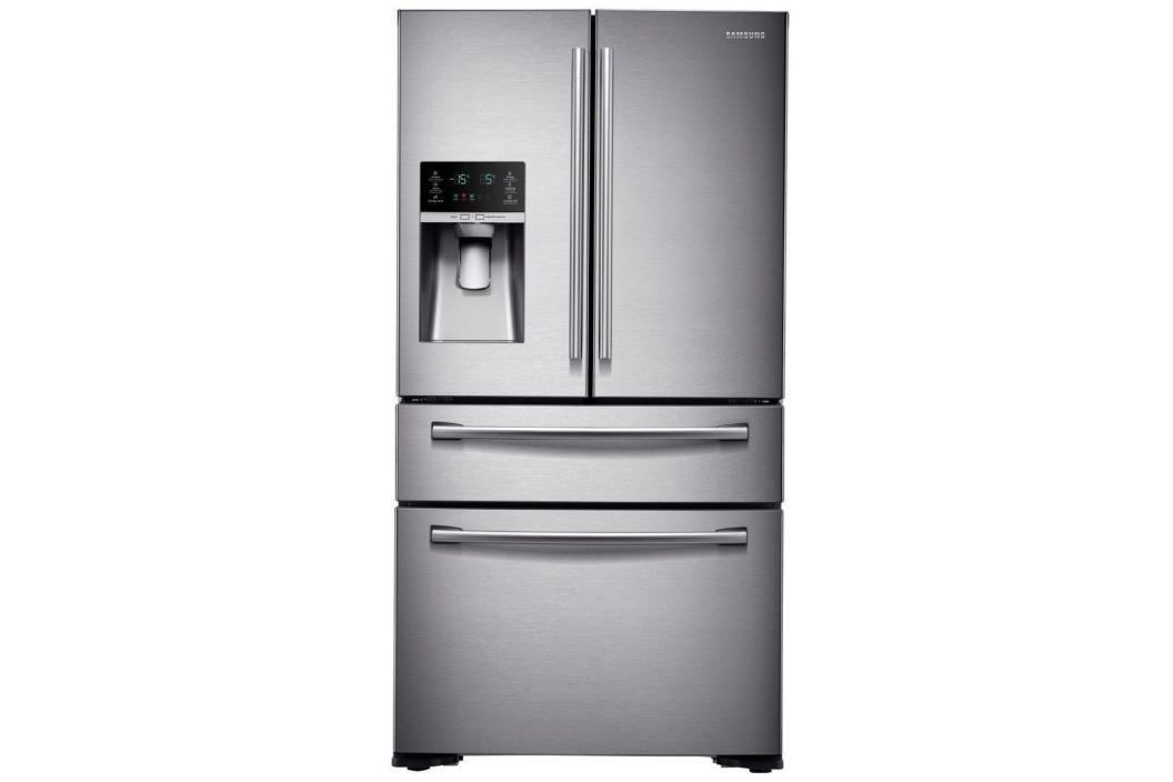 NEW Samsung RF30KMEDBSR/AA 29.7 cu.ft. Capacity 4 Door French Door Refrigerator