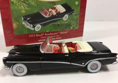 Hallmark Keepsake Ornament 1953 Buick Roadmaster Skylark Roadster Convertible