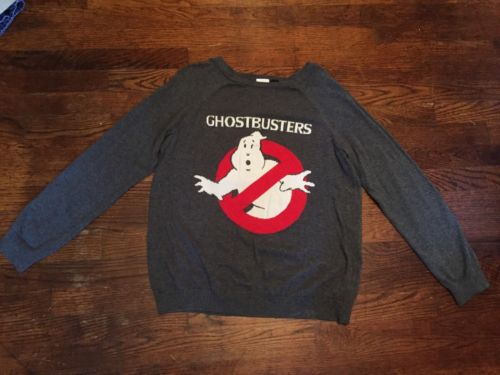 Ghostbusters Sweater Women's Large